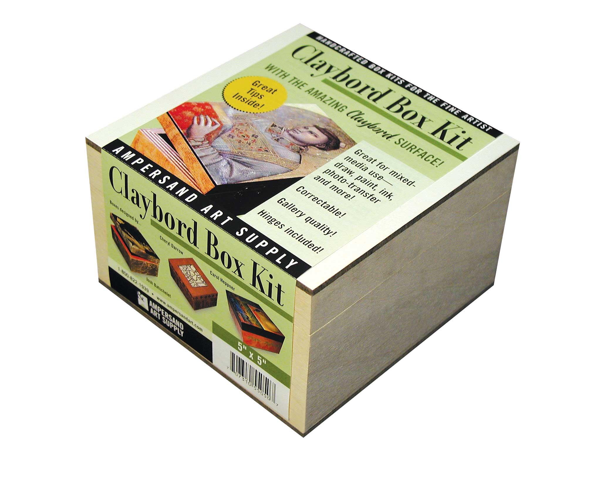 CLAYBORD SMOOTH BOX KIT 5X7