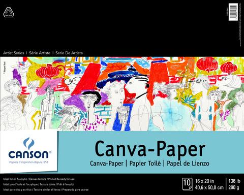 ARTIST SERIES CANVA-PAPER PADS 16 X 20