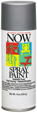 NOW MULTI-PURPOSE SPRAY 9OZ ALUMINUM