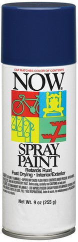 NOW MULTI-PURPOSE SPRAY 9OZ ROYAL BLUE