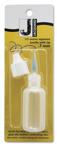 SQUEEZE BOTTLE 1/2 OUNCE WITH .7MM TIP