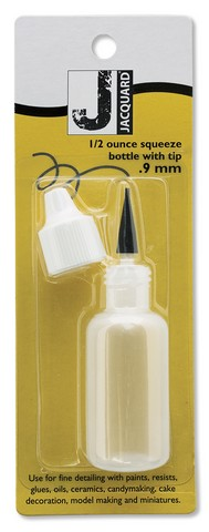 SQUEEZE BOTTLE 1/2 OUNCE WITH .9MM TIP