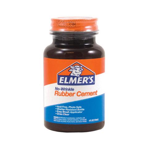 ELMERS RUBBER CEMENT 8OZ