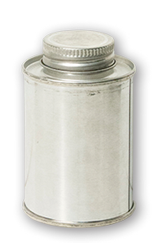 MTL CAN STAINLESS STEEL W/CAP 4OZ