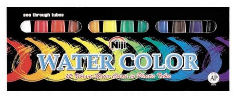 NIJI WATERCOLOR 12 COLOR SET