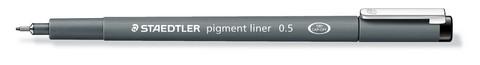 STAEDTLER PIGMENT LINER SKETCH PEN .5MM BLACK