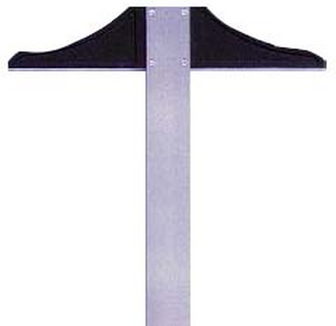 T-SQUARE STAINLESS STEEL 36 INCH