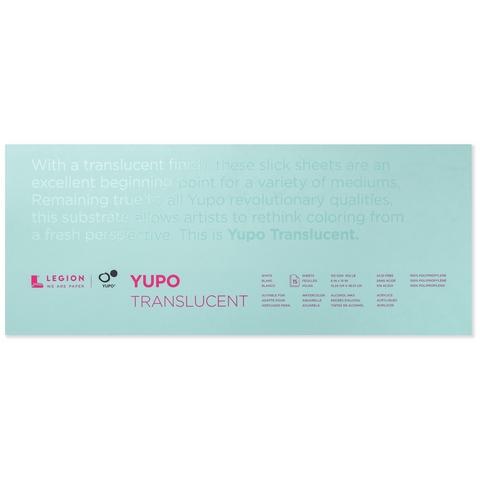 YUPO PAD 6X15 104LB TRANSLUCENT 10 SHEETS