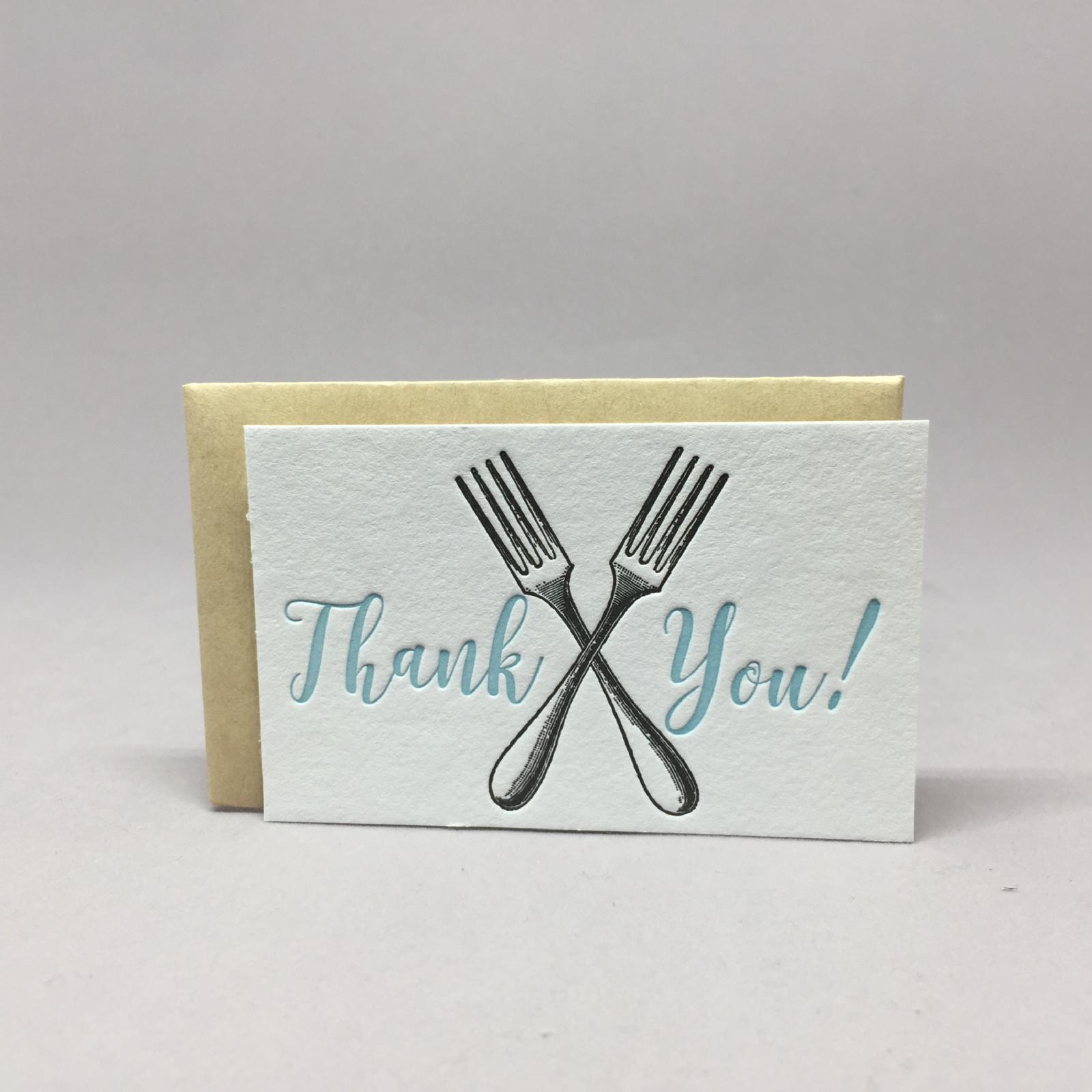 Thank You Forks Mini