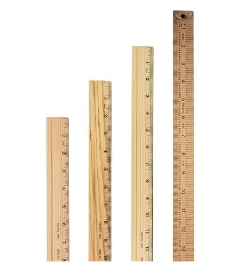 Classic Hardwood Yard Stick