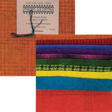 Wool 5 Charm Brights Texture