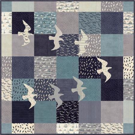 Great Gulls Quilt Kit