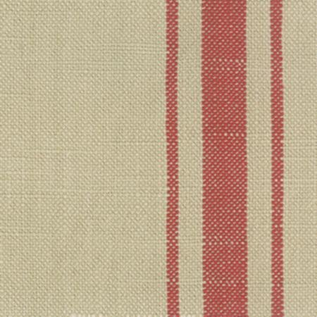 16 Toweling Middle Stripe Natural/Tomato