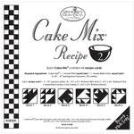 Cake Mix Recipe 2 45ct