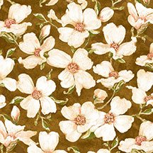 Velvet Blossoms (Flannel) 43872-217
