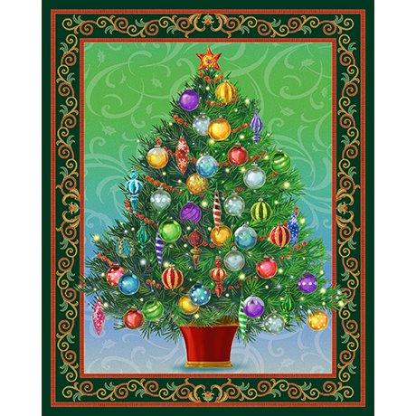Holiday Treasures Panel 45416 F 15S