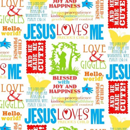 Jesus Loves Me 6610 18
