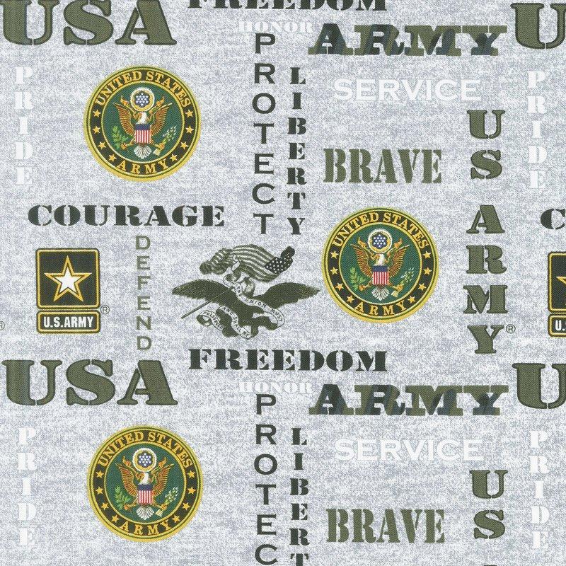 Military Prints Army 1181-A