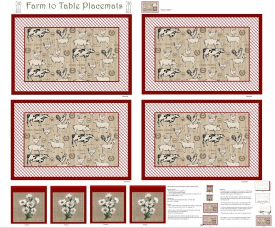 Farm to Table Placemat Kit