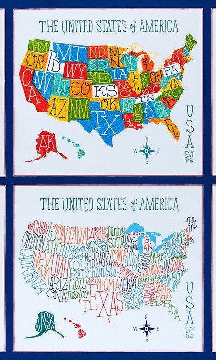 Explore America AOM-16038-195 Bright Panel