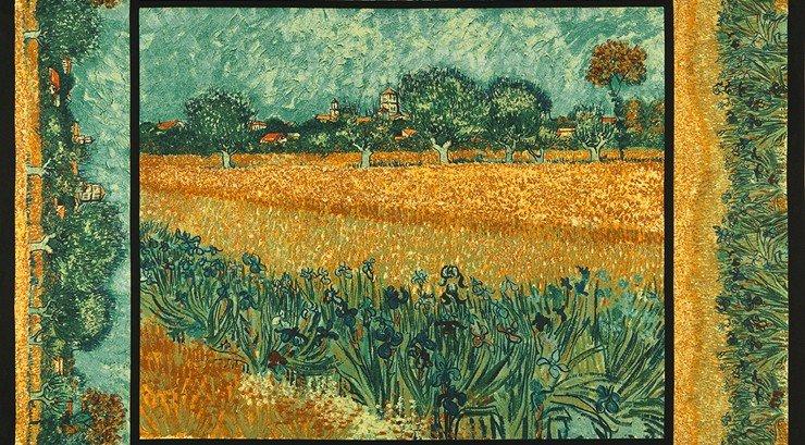 Vincent Van Gogh 15101-238 Garden Panel