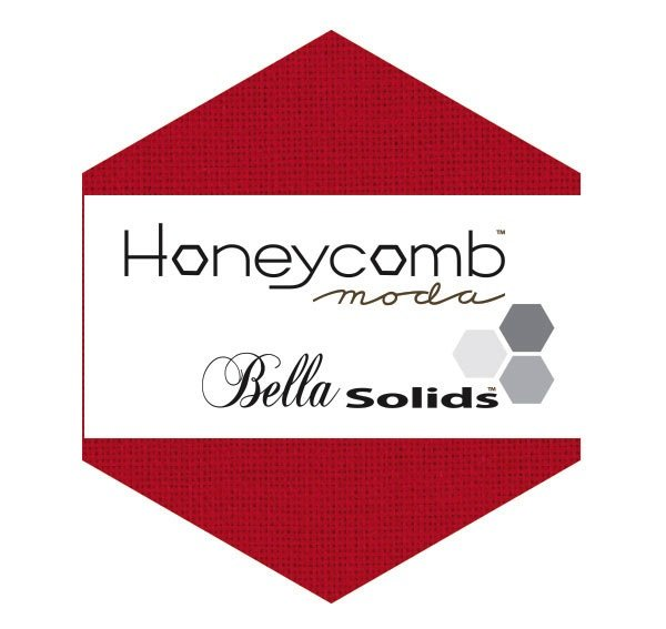 Bella Solids Honeycomb 9900HC 16 Red