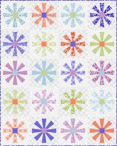 Flower Dance Quilt Kit