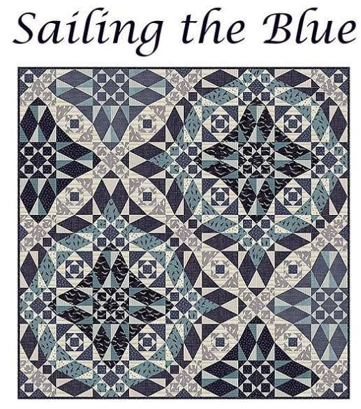 Sailing the Blue Quilt Kit