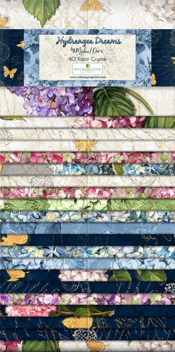 Hydrangea Dreams 2.5 Strips 40 ea