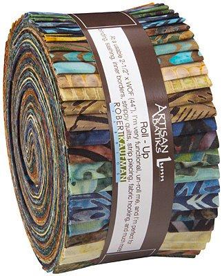 Artisan Batiks: Bakari 2.5 Strip roll