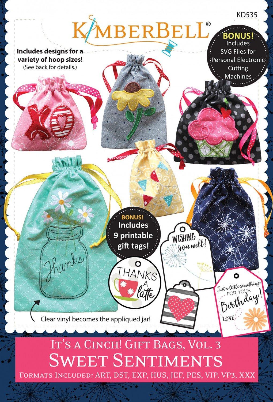 It's A Cinch! Gift Bags Vol. 3 Sweet Sentiments