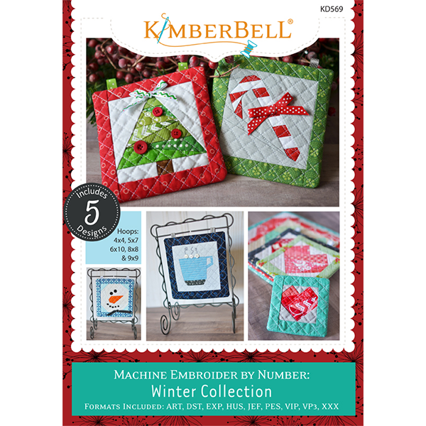 Kimberbell Embroider by Number Winter Collection