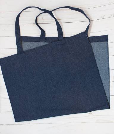 Kimberbell Blanks Denim Tote  17 x 15