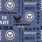 Military Prints Navy 1181-N