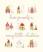 Merry Little Christmas P9648 panel