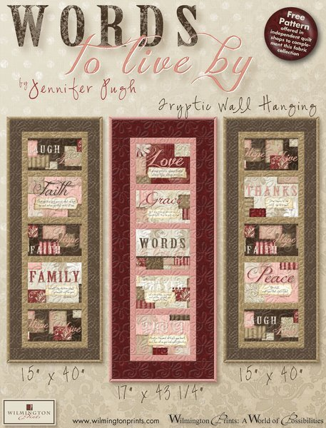 Words to Live By 3 Banner Kit