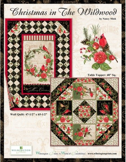 Christmas in The Wildwood Quilt Kit