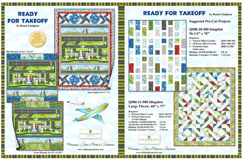 Ready for Takeoff Blue Playmat Kit