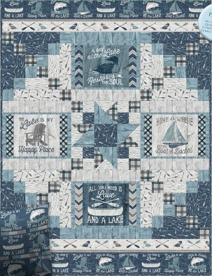 A Day At The Lake Quilt Kit