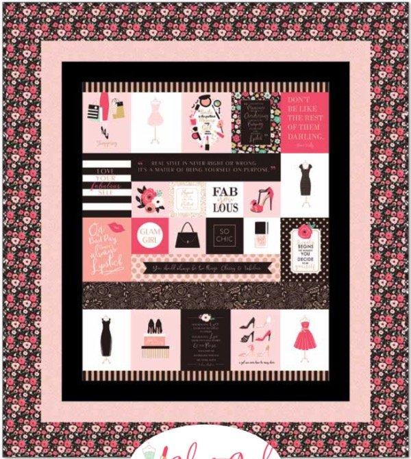 Glam Girl Quilt Kit