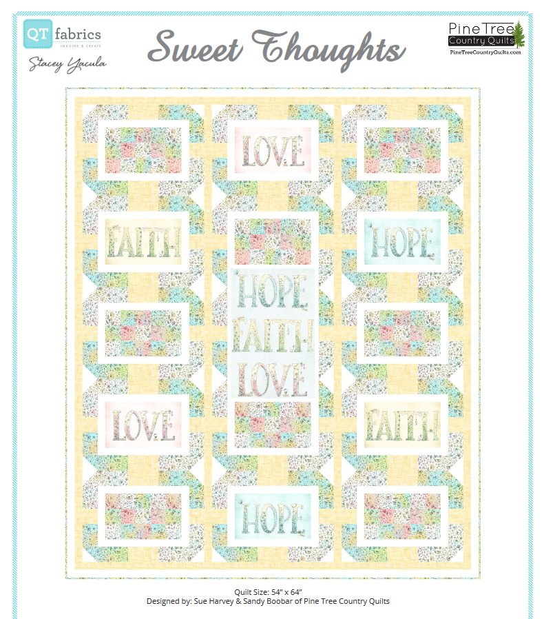 Sweet Thoughts Quilt Kit