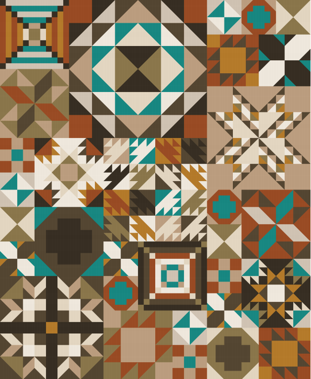 Moda Color - Trading Post Block of the Month Registration