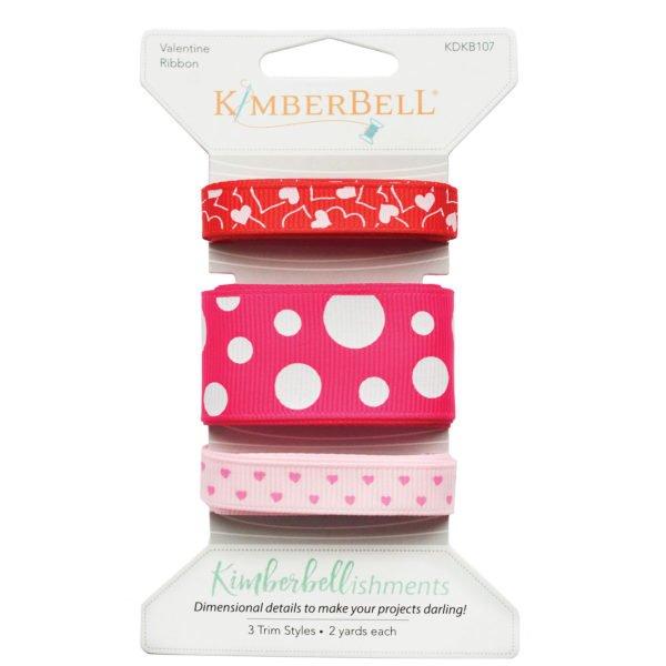 Kimberbell Valentine Ribbon Set