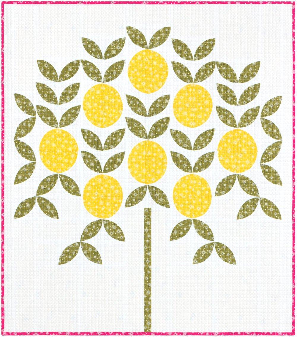 The Citrus Grove Quilt Kit