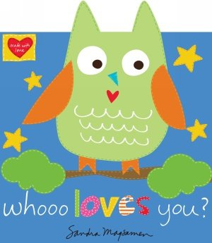 Huggable and Loveable Soft Books Whooo Loves You 3366P-1