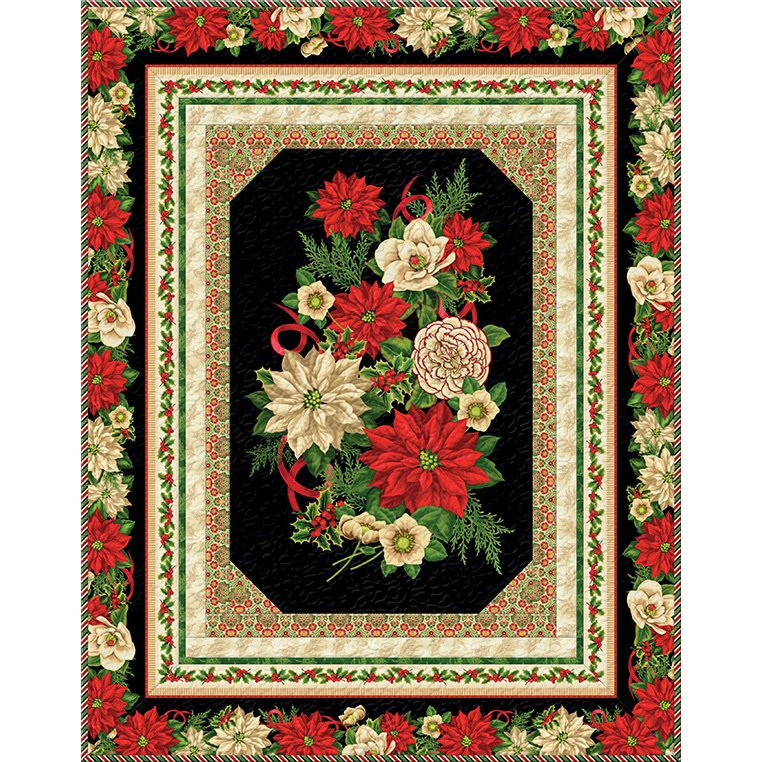 Holiday Lane Wall/Throw Quilt 43 1/2 x 55 1/2