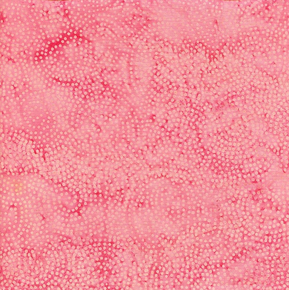 Island Batik Paisley Dot Carnation