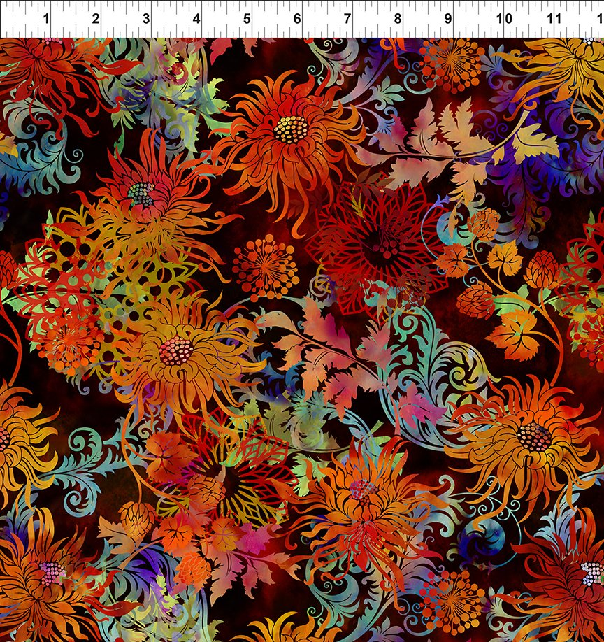 Floragraphix V - Allover Floral -Mulit