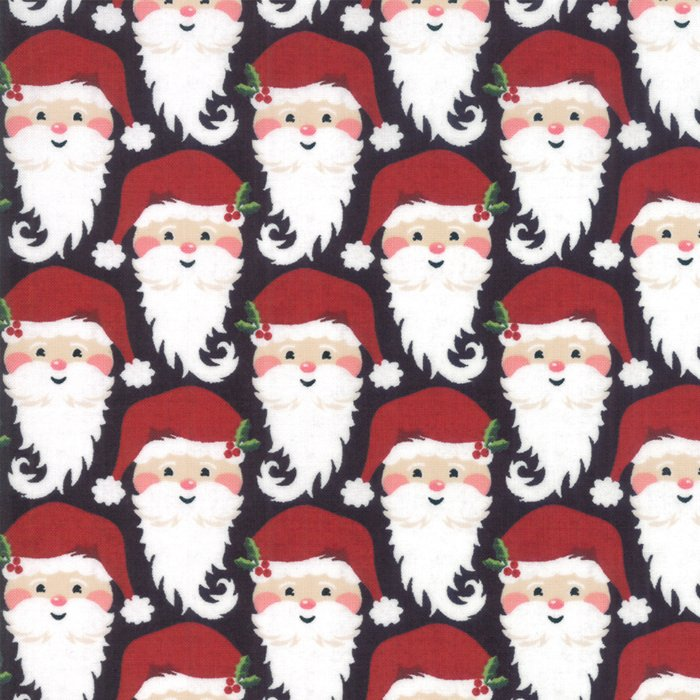 Moda Kringle Claus Basic Grey