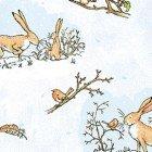 Guess How Much I Love You - Bunny & Robin Scene - Light Denim